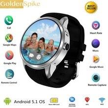 2018 Best X200 air Android 5.1 OS Wrist Smart watch MTK6580 1.39″ AMOLED Display 3G SIM Card 1G+16G Bluetooth Wifi SmartWatch