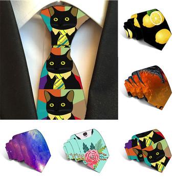 Nowy poliester 8cm krawaty dla krawaty męskie wąskie krawaty drukowane męski krawat osobowość Cravate wesele akcesoria 5S-LD30 tanie i dobre opinie LODIELINKTR Moda CN (pochodzenie) Dla dorosłych Szyi krawat Jeden rozmiar Drukuj