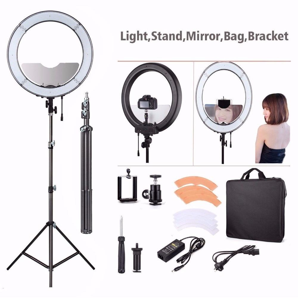 Fotopal 55W 5500K Daylight LED Ring Light Lamp for Photography ...