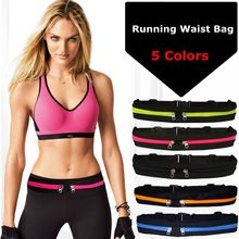 Sports Bag Running Waist Bag Pocket Jogging Portable Waterproof Cycling Bum Bag Outdoor Phone anti-theft Pack Belt Bags(China)
