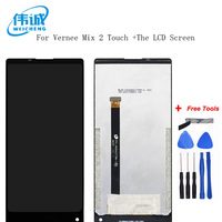WEICHENG For Vernee Mix 2 LCD Display and Touch Screen 6 inch Good Assembly Repair Parts Mobile Accessories+Free Tools