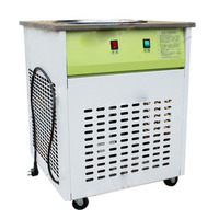 16KG/H Ice Pan machine,Fried ice cream machine, one pan flat fry ice cream machine,Commercial ice cream roll machine