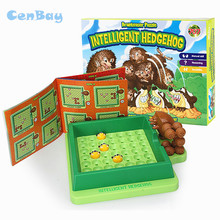 Забавный Интеллектуальный лабиринт ежика, игрушечная комната, Свиток, головоломка, настольная игра, креативный интерактивный тизер, развивающие игрушки