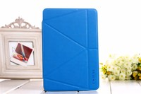 For New IPad 9 7 2017 Case Onjess Fold Originality Deformation Stand Smart Cover For Apple