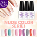 Sexy mix 10Pcs/Lot Gel Polish Varnish UV LED Nude Color Series UV Nail Gel Polish Soak off Gel Varnish Long Lasting Gel Nail