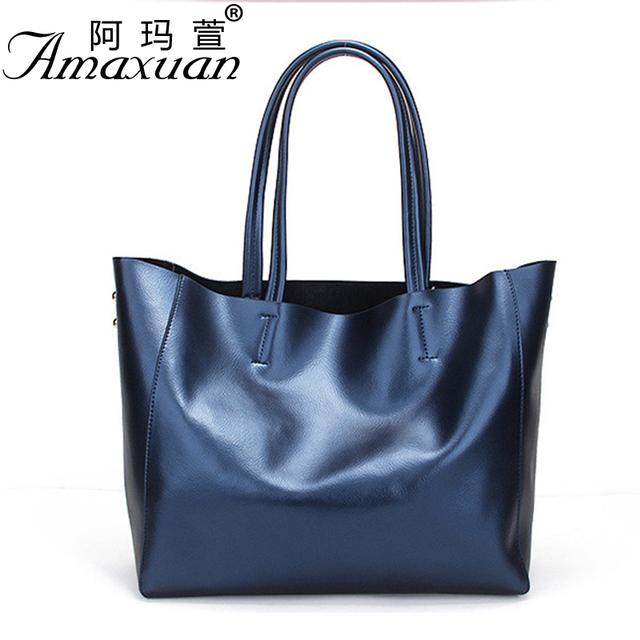2017 women Genuine leather bags fashion simple shoulder bag large-capacity mother-child Women handbags crossbody bag BBH839