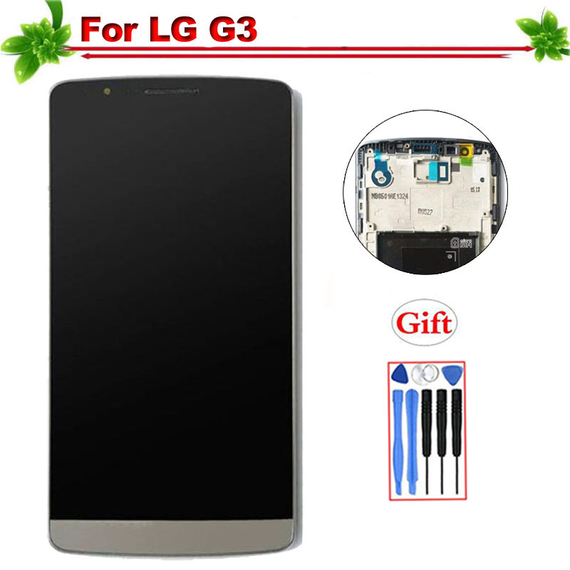 IPS for LG G3 LCD Display With Frame Touch Screen Digitizer Assembly Replacement for LG G3 D850 D851 D855 LCD DisplayIPS for LG G3 LCD Display With Frame Touch Screen Digitizer Assembly Replacement for LG G3 D850 D851 D855 LCD Display