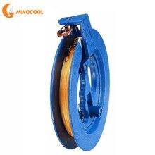Катушка для намотки воздушного змея 18 см, колесо огня 200 м, инструмент с летающей ручкой, витая струнная линия, наружная круглая синяя ручка для воздушного змея, аксессуары