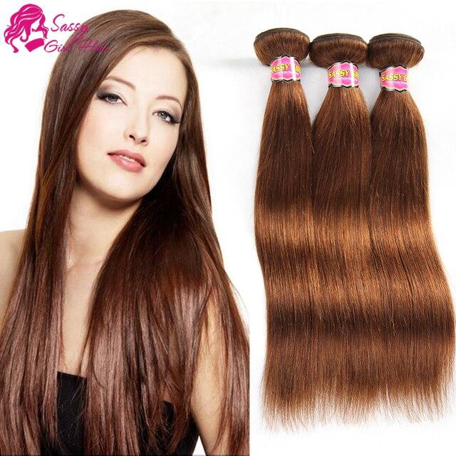 Indian Virgin Hair Straight Unprocessed Human Hair Extensions Weave