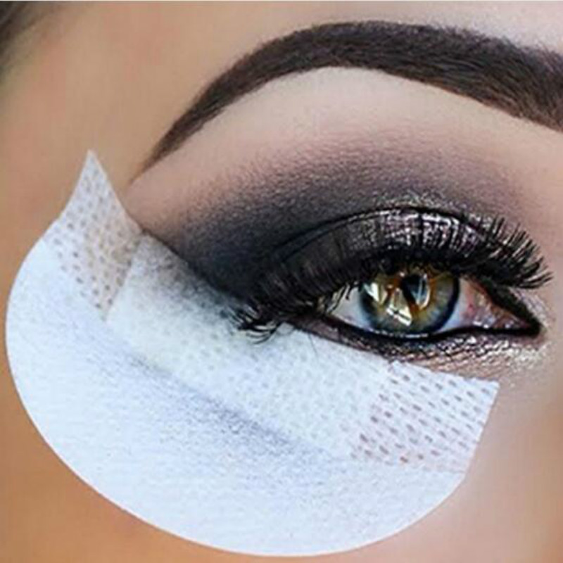 40 Pcs/lot Eyeshadow Shields White Under Eye Patches Eye Shadow Sticker Protector Eye Make Up Supplies Cosmetic Tool