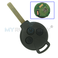 Remote key Keyless Entry Fob 3 Button For MERCEDES BENZ Smart Fortwo 434MHZ remtekey