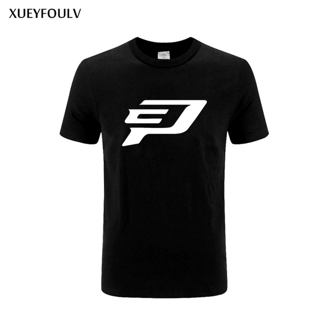 XUEYFOULV 2018 Chris Paul Logo Men T Shirt Tops Fashion Short Sleeve Cotton