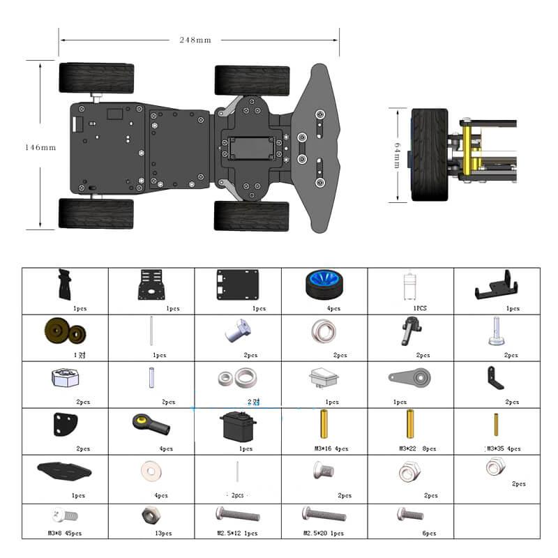 DIY Kit Robot   (9)