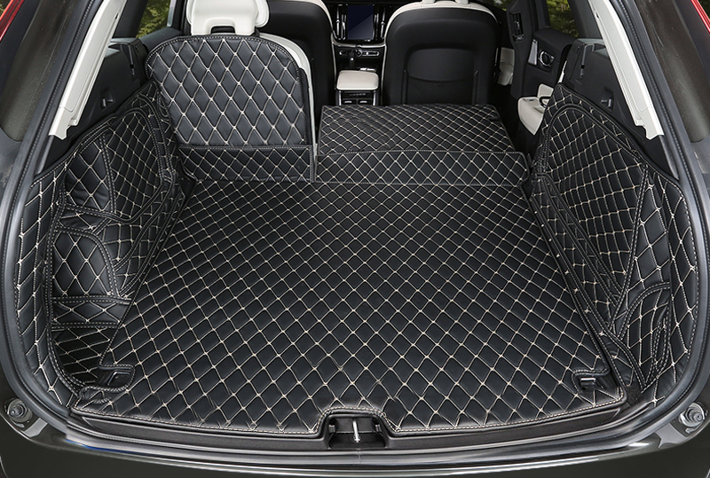 HIGH FLYING Car Interior Trunk Mat Cargo Pad Cargo Mats Cover For Volvo XC60 2018 car interior trunk mat cargo liners pad cargo mats cover accessories for mazda cx 5 cx5 2nd gen 2018