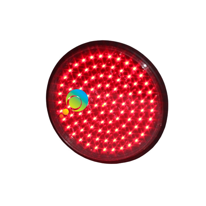 DC12V Or DC24V New Design High Brightness 300mm Red Led Module Traffic Light For Sale
