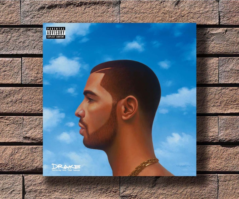 US $5 83 13% OFF|G 857 Drake Nothing Was The Same Rap Music Album Cover  Fabric Home Decoration Art Poster Wall Canvas 12x12 20x20 24x24inch Prin-in