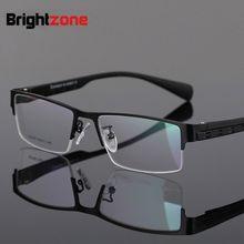 Brightzone alta calidad Multifocal Progresiva gafas De lectura hombres Presbyopia  Hyperopia Bifocal Oculos De Grau ver lejos y c. 95097125b846