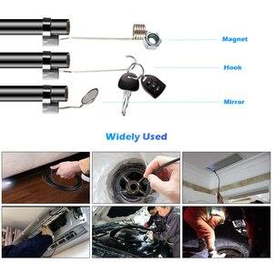 Image 2 - Fuers F110 1M 3M 케이블 8mm 1080P HD 방수 핸드 헬드 WIFI 내시경 안 드 로이드 IOS 전화에 대 한 LED 다목적 검사 카메라