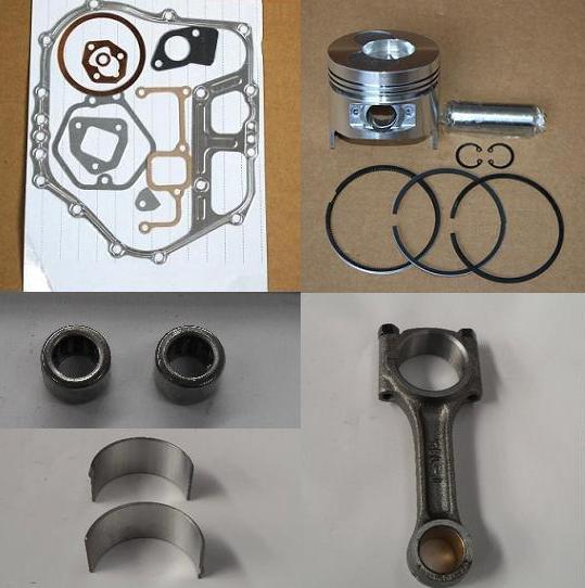 Fast Shipping Diesel engine 178F Piston pin ring gasket connecting rod bearing  chinese brand suit for kipor kama fast ship diesel engine 188f conical degree crankshaft taper use on generator suit for kipor kama and all chinese brand