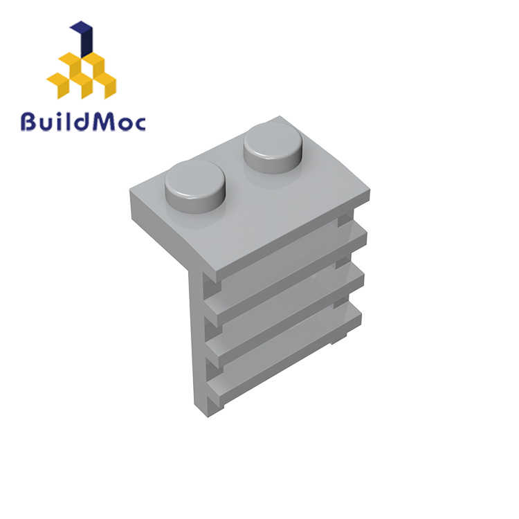 BuildMOC Compatible For lego 4175 1x2 For Building Blocks Parts DIY LOGO Educational Creative gift Toys