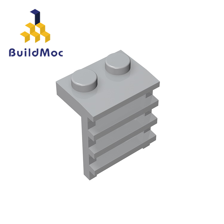BuildMOC Compatible Assembles Particles 4175 1x2 For Building Blocks DIY LOGO Educational High-Tech Spare Toys