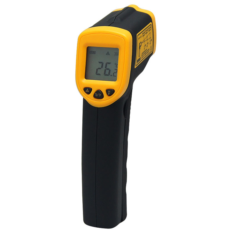 Non contact IR Digital Infrared Thermometer electronic AR550 -32~550C(-26~1022F) Point Gun Pyrometer Temperature instruments цена 2016