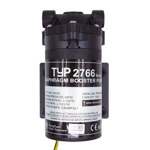 Image 2 - Coronwater 75gpd su filtresi RO hidrofor pompası 2766NH artırmak ters osmoz sistemi basınç