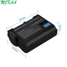 Hot Sale 2550mAh EN-EL15 ENEL15 EN EL15 decoded Camera Battery For DSLR D600 D610 D800 D800E D810 D7000 D7100 D7200 V1