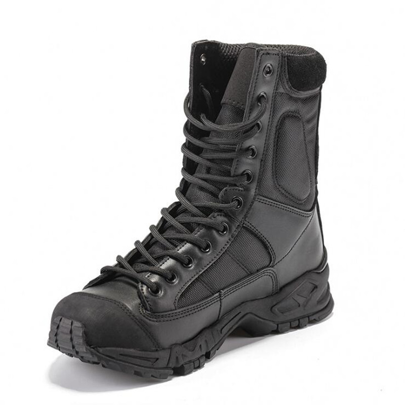 Tactical Boots Military Combat Boots Army black mens boots Breathable Wearable with high quality AirBorne Boot