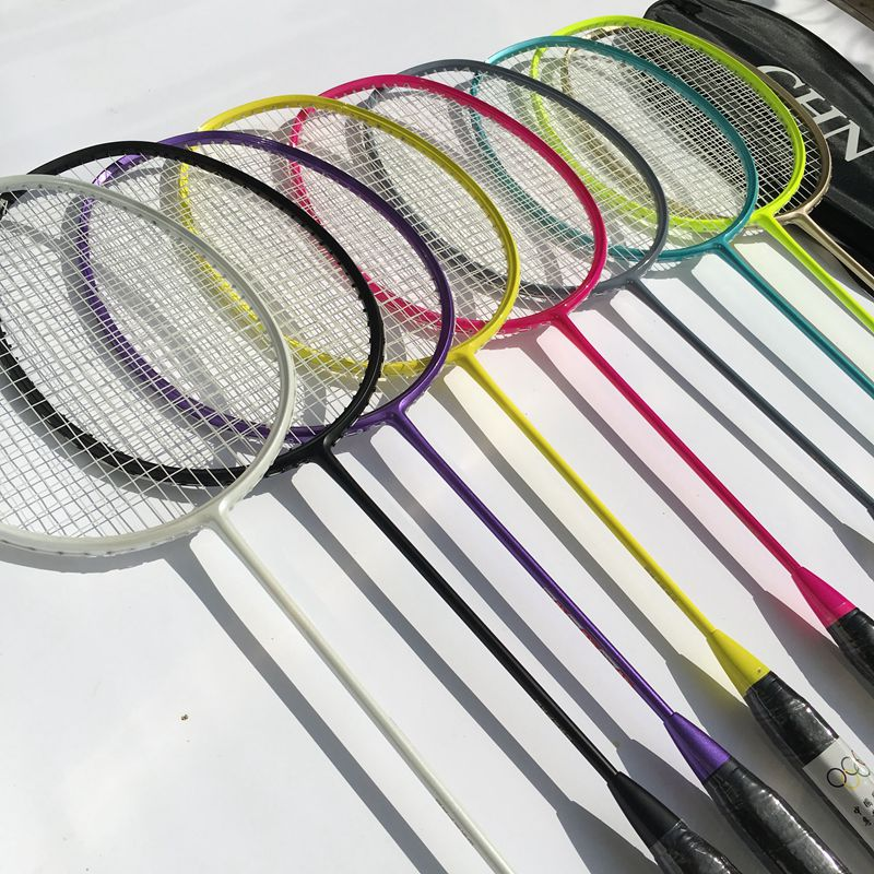 Free Shipping 1 Pc Zarsia Light 4u 83g Badminton Rackets 3d Blade Badminton Racquet