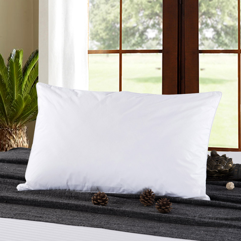 best quality goose down pillows for adults sleeping bed rest on sale natural comfortable luxury white