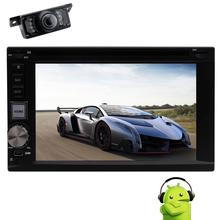 Android 6.0 Car DVD Player 2Din Automotive Stereo GPS Navigation din Head Unit Autoradio Video Audio Mirrorlink Wifi Free Camera