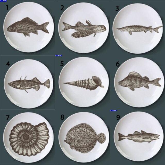 Aliexpress Com Buy Dish Seabed World Fishanimal Plates Home