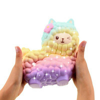 Jumbo 16 5 CM Squishies Alpaca Squishy Slow Rising Phone Straps Phone DIY Accessories Kid Toy