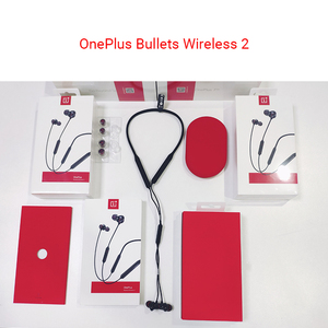 Image 3 - Наушники OnePlus Bullets Wireless 2 AptX, гибридные наушники вкладыши с магнитным управлением, микрофоном и быстрой зарядкой для Oneplus 7/7 Pro