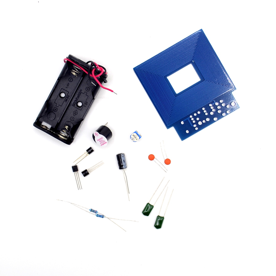 Diy Kit Simple Metal Detector Locator 3v 5v Dc Electronic How To Build A Circuit Production Sensor Induction Suite In Integrated Circuits From Components