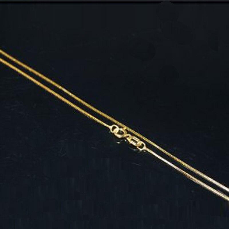 Оптовая продажа 20 дюйм(ов) 14 К массивные золотые цепи