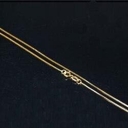 Cadena de oro sólido de 20 pulgadas 14K al por mayor