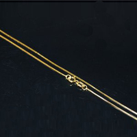 Wholesale 20 Inches 14K Solid Gold Chain