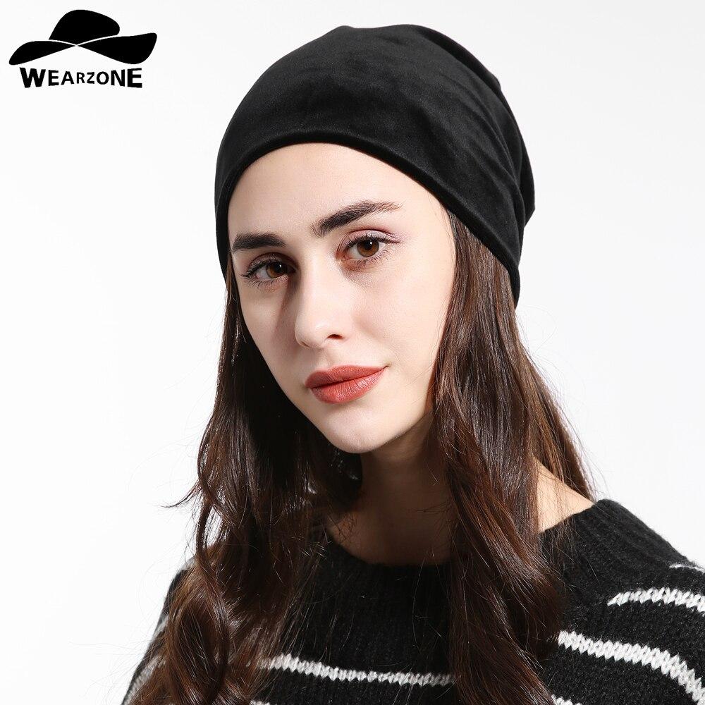 Wearzone Fashion Unisex Velvet Women Winter Hat Men