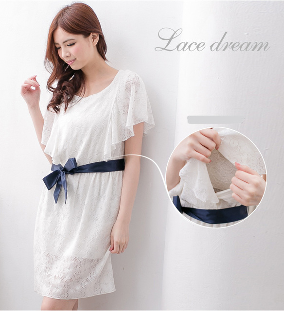 New Arrival Maternity Clothing Dress Breastfeeding Dress Cute ...