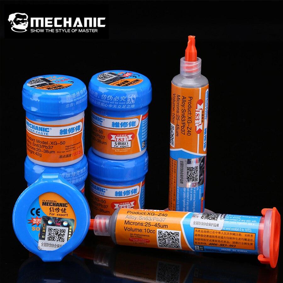 Mechanic Soldering Solder Welding Paste Flux XGSP80 SMD SMT Sn63//Pb37 Tool 60g