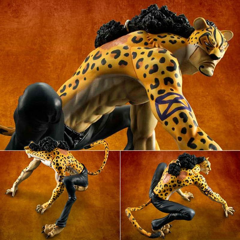 One Piece P.O.P MAS Rob Lucci Leopard Panther Ver Figure Figurine No Box