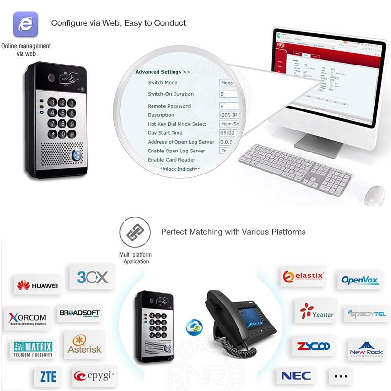 Gradnja varnostnega video domofona SIP Talking Doorbell Intercom s - Varnost in zaščita - Fotografija 3