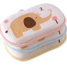 Высококачественная Экологичная супер мягкая губка для ванны для младенцев, Детская щетка для ванны, милая губка для ванны с слоном, eponge bebe