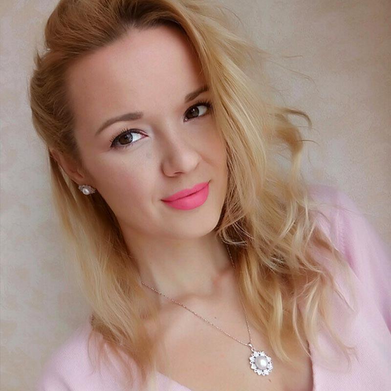 Даими роскошный цветок кулон 11 12 мм большой белый жемчуг кулон Цепочки и ожерелья 925 Серебряный кулон Новинка 2017 года купить в магазине DAIMI Official Store на AliExpress