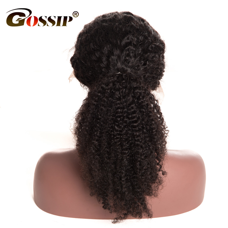 Ремі Кучеряве Кучеряве Волосся - Людське волосся (чорне) - фото 4