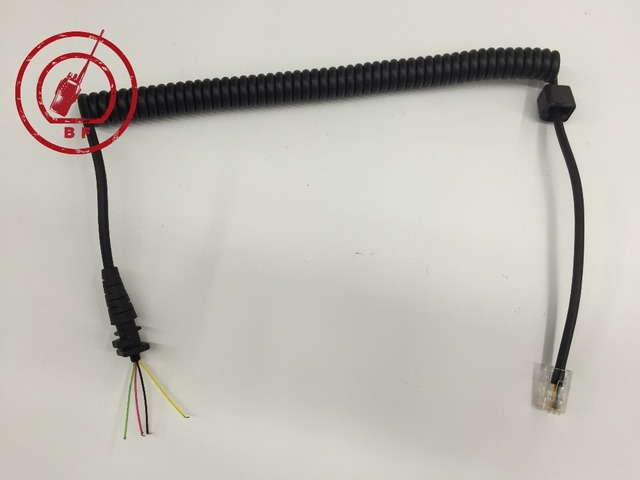 8pin 4 Wire Speaker Mic Cable Line For Motorola For Gm930