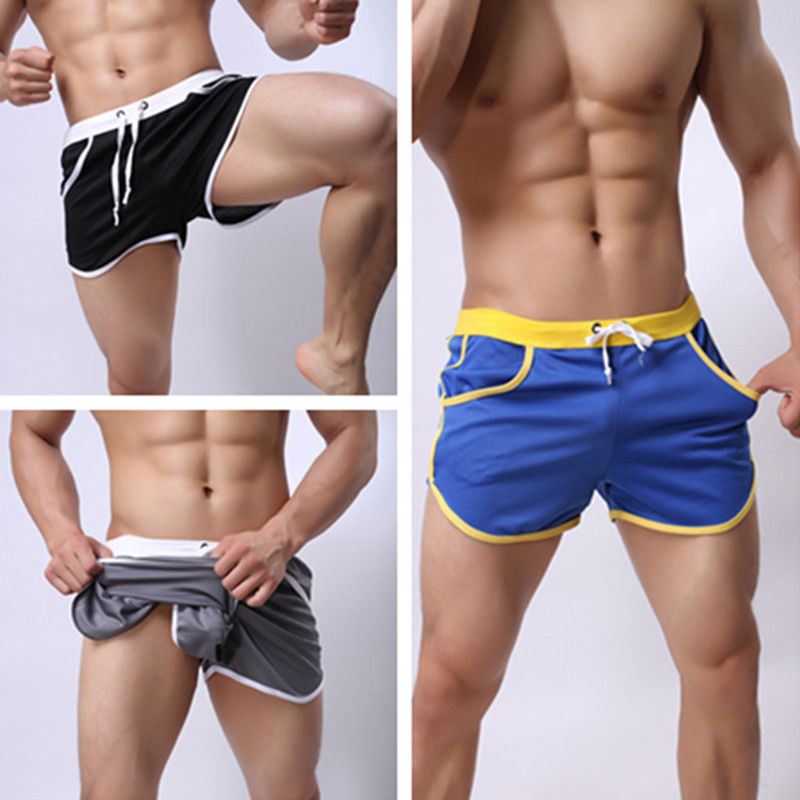 Size M-2XL Men's Beach Shorts Men Summer Swimming Shorts Beach Pants Quick Dry Swim Shorts Running Gym Man Plus Size Trunks