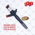 ERIKC 095000-5920 23670-0L020 оригинальный инжектор двигателя автомобиля 0950005920 Common Rail Inyector 5920 для 1kd Toyota Hilux 3.0L D-4D